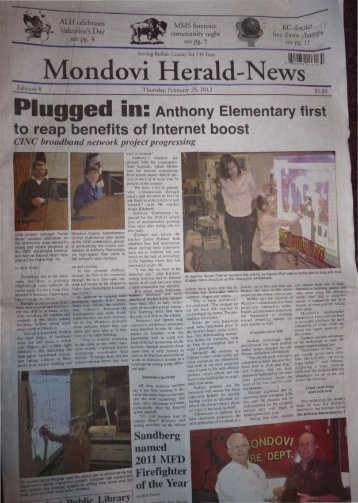 Plugged in: Anthony Elementary first to reap benefits of Internet boost