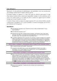Cas clinique 2 - UMVF