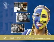 SCA Annual Report 2011-12.pdf - St. Catharine Academy