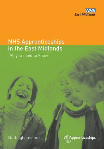 NHS Apprenticeships in the East Midlands - Health Partnerships ...