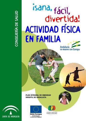 Folleto actividad física en familia