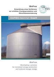 BioFros BioFros - CUTEC-Institut GmbH