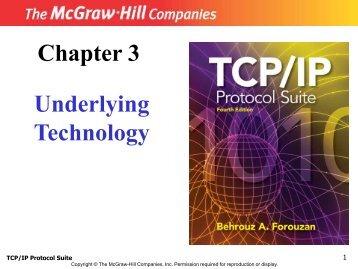 Underlying Technologies ppt - Csmaster