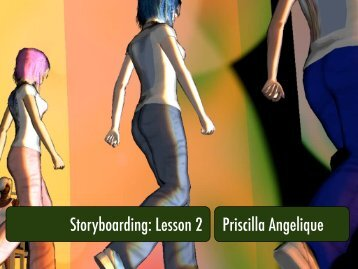 Storyboarding 2 - Presentation.pdf - Digital Learning Environments