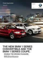 the new bmw  series convertible and the bmw  series coupé.