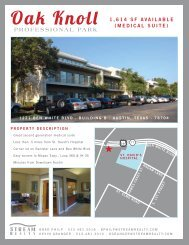 1,614 SF AVAILABLE (MEDICAL SUITE)