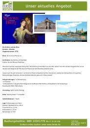 Die Schöne und das Biest - Eventreisen - Trierischer Volksfreund