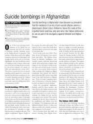 Suicide bombings in Afghanistan - Brian Glyn Williams