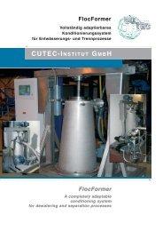 FlocFormer FlocFormer - CUTEC-Institut GmbH