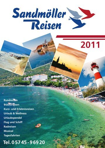 Urlaub & Wellness - Sandmöller Reisen