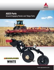 Print Full Catalog - AGCO Parts