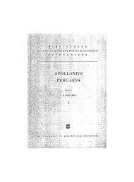 Apollonius de Perga (0262?-0190? av. J.-C ... - Wilbourhall.org