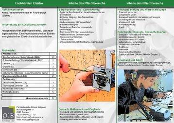 Elektro - Polytechnische Schule Bregenz