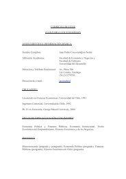 Juan Pablo Couyoumdjian Nettle - Facultad de Economía y ...