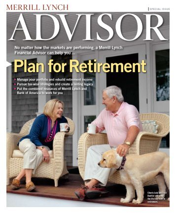 Plan for Retirement - Merrill Lynch - Wealth Management