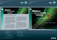 Flyer Greentech - Bühler Motor