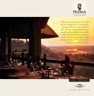 download e-brochure - Extraordinary.co.za