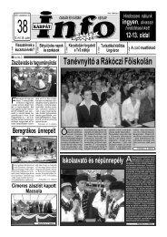 Tanévnyitó a Rákóczi Főiskolán - Kárpátinfo.net