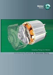 Introducing Buehler: A Success Story - Bühler Motor