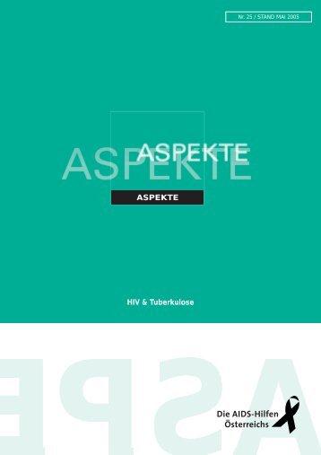 ASPEKTE HIV & Tuberkulose
