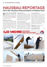 Bader Haus und GO FOR MORE - Creditweb