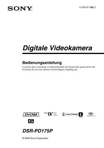 Menü - Video Data