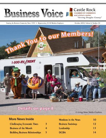 October 2010 - Castle Rock Chamber of Commerce