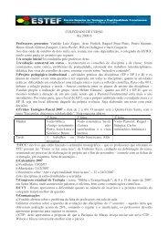 COLEGIADO DE CURSO Ata 2006-6 Professores presentes ... - estef