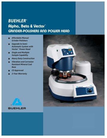 BUEHLER® Alpha, Beta & Vector™