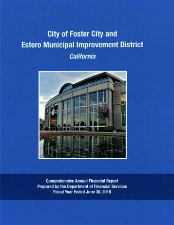 Fiscal Year Ended June 30. 2010 - Foster City
