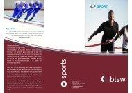 NLP SPORT Practitioner - Sport Knowhow XL