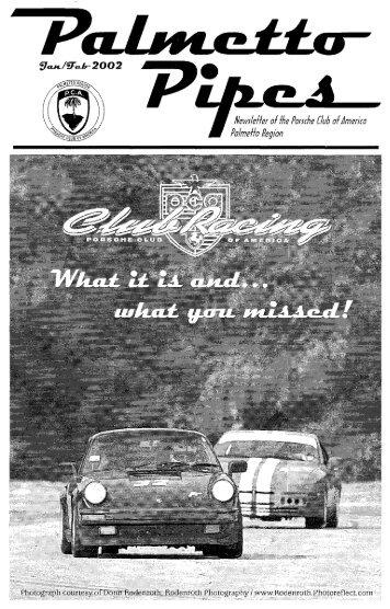 January/February 2002 - Porsche Club of America, Palmetto Region