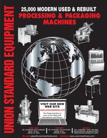 Union Standard Catalog - Union Standard Equipment and Union ...