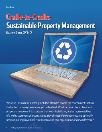 cradle-to-cradle: sustainable Property management - Sunflower ...