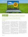 Agneta Melin ökar insatsen för miljön - SLU - Page 6