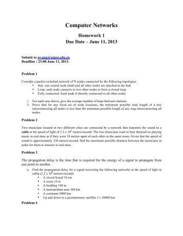 Computer Networks Homework 1 img-1