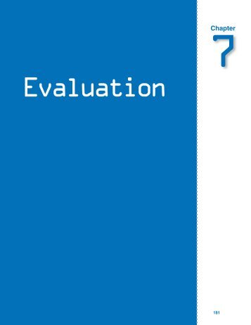 Chapter 7: Evaluation - SouthEast Initiatives Regional Technology in ...