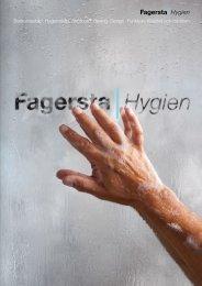 Fagersta hygien - Produktkatalog PDF, 3 MB