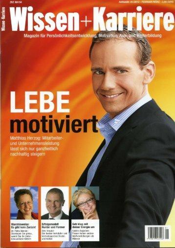 Wissen + Karriere - Matthias Herzog