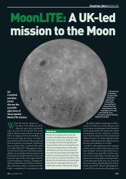 MoonLITE:A UK-led mission to the Moon - UCL Astronomy Group