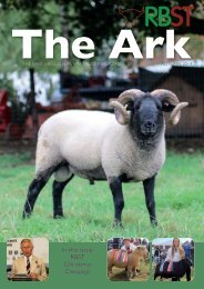 Recent Edition of The Ark Magazine - Rare Breeds Survival Trust