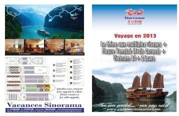 + Vietnam 31+2 jours - Vacances Sinorama