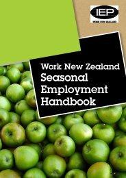 Seasonal Employment Handbook