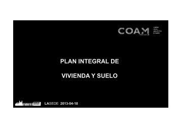 Proyecto Renove Madrid - coam