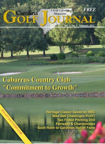 Cabarrus Country Club - Play Best Golf Courses in Charlotte, NC