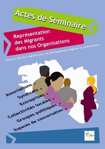 actes_Séminaire sur la participation des migrants - Acteurs Bretons ...