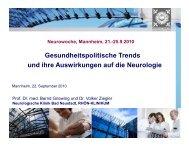 Gesundheitspolitische Trends und ihre Auswirkungen auf die ...