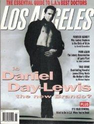 LA Magazine - Garth Fisher, MD