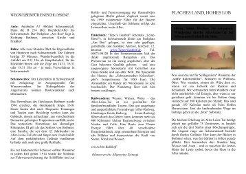 FLACHES LAND, HOHES LOB - Tepe's Gasthof im Aller-Leine-Tal