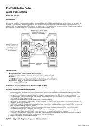 Pro Flight Rudder Pedals - Saitek